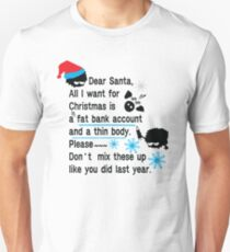 Funny new year resolutions Unisex T-Shirt