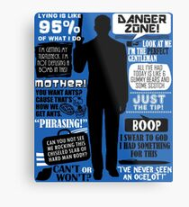 Archer - Sterling Archer Quotes Metal Print