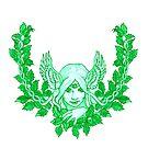 Green Lady by redqueenself