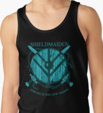 7abaca23cca84 Shieldmaiden - Strong is the new skinny Men s Tank Top