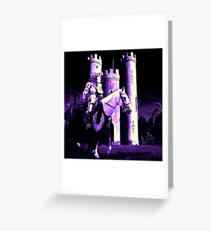 Lavender Moon Greeting Card