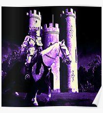 Lavender Moon Poster