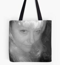 White & Black Tote Bag