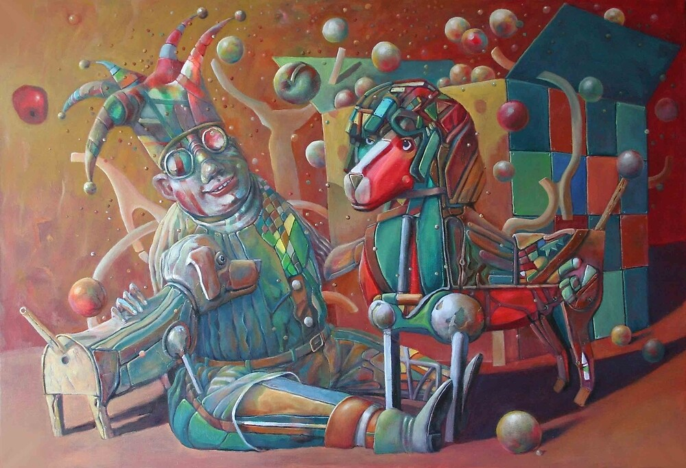 clown by Valeriu Buev