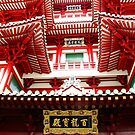 The tooth temple roof, Singapore by georgelim