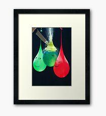 Balloonicidal II Framed Print