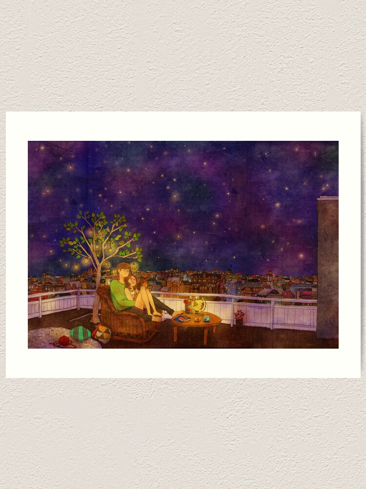 Alternate view of Stargazing Art Print