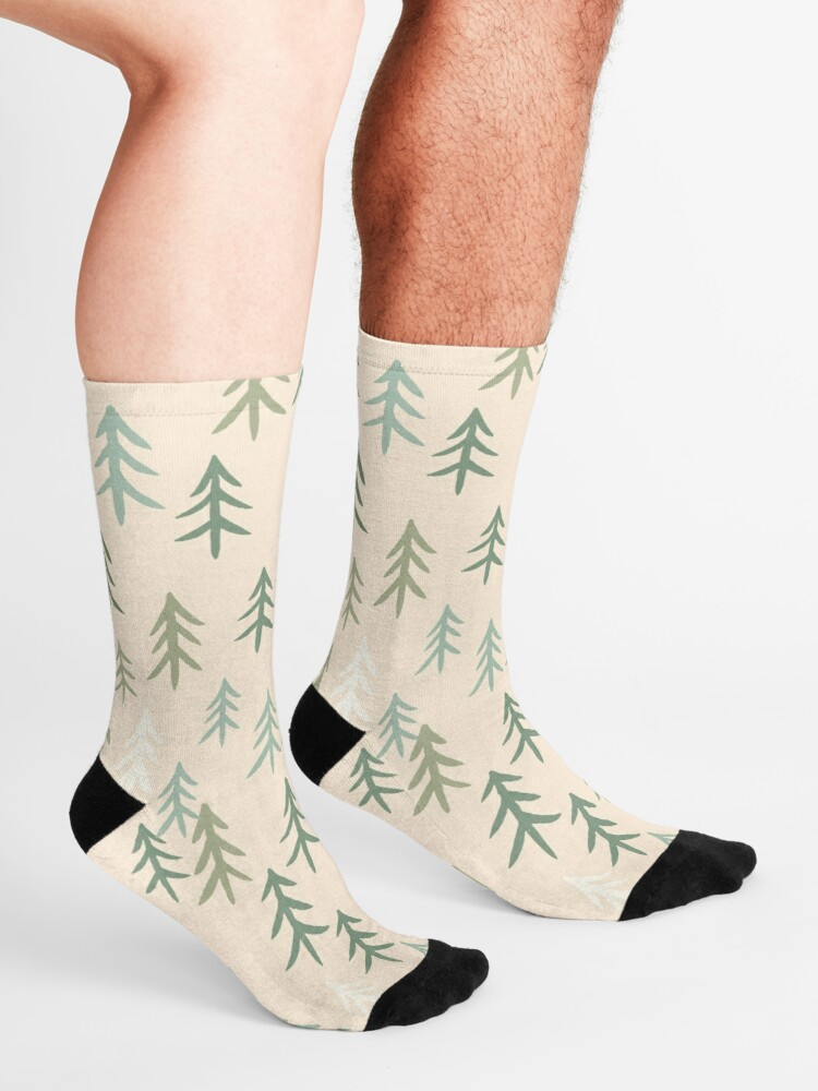 Alternate view of TREE-mendous Socks