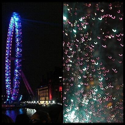 Amazing London - LONDON EYE DIPTYCH - UK by Daniela Cifarelli