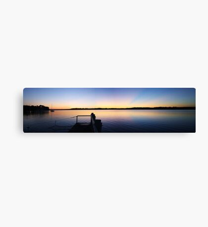 Hot Summers' Night Canvas Print