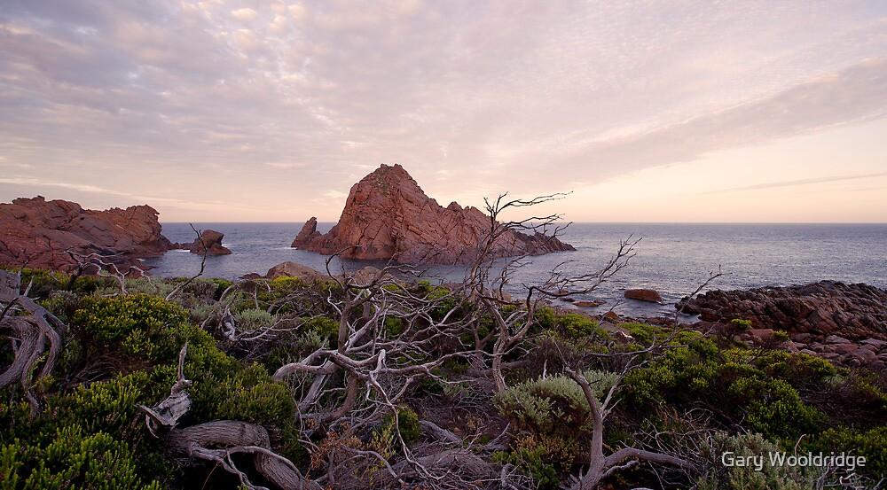 Sugarloaf rock looking warm by Gary Wooldridge