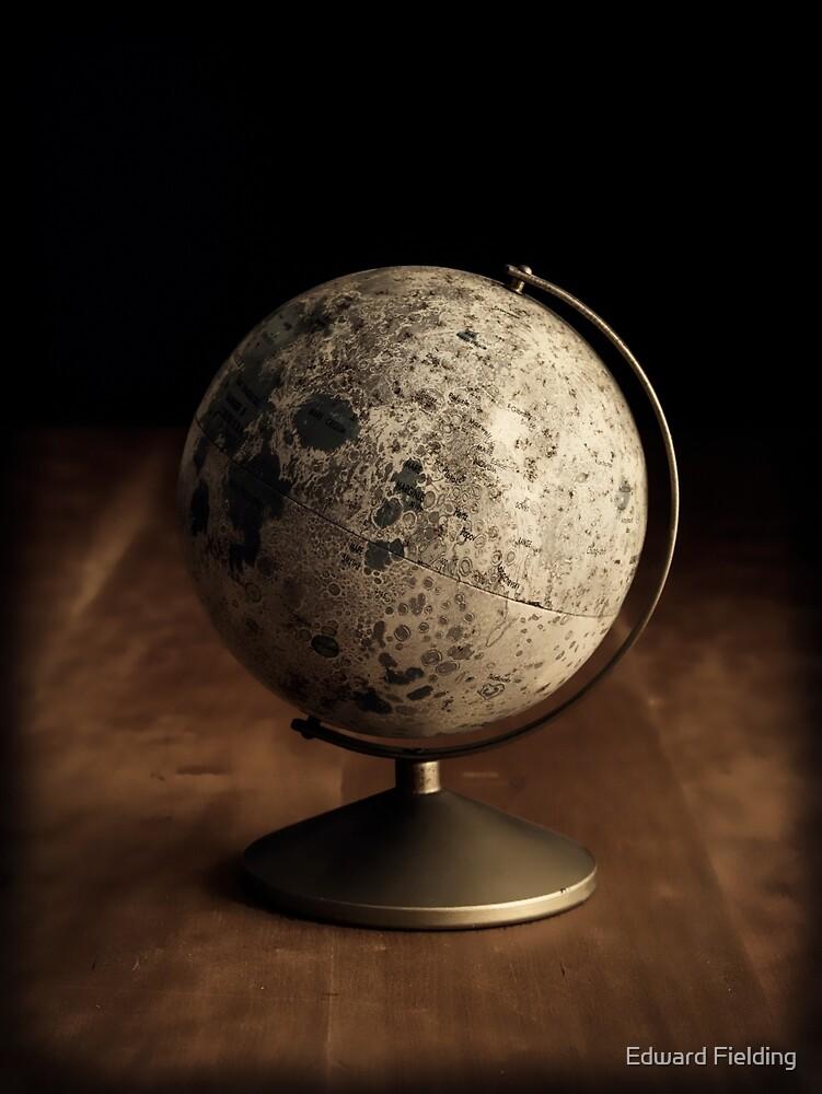 Moon Globe Still Life by Edward Fielding
