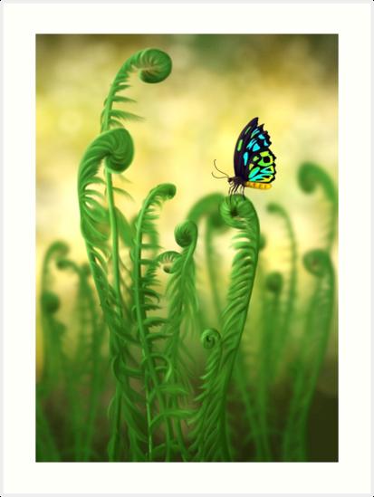 Schmetterling von unikatdesign