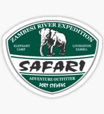 Elephant - The Safari Camp Sticker