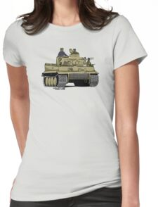 The Dogs of War: Tiger Tank Womens Fitted T-Shirt