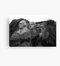 Mount Rushmore National Memorial Canvas Print