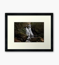 Opossum Creek Falls Framed Print