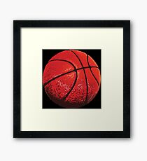Basketball Framed Print