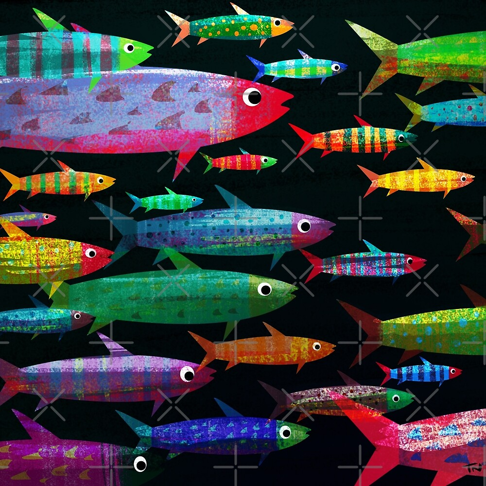 Fishes by tonyneal