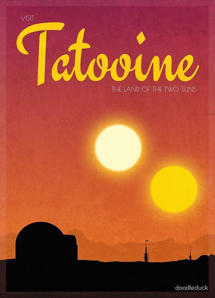 Visit Tatooine by doodleduck