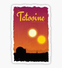 Visit Tatooine Sticker