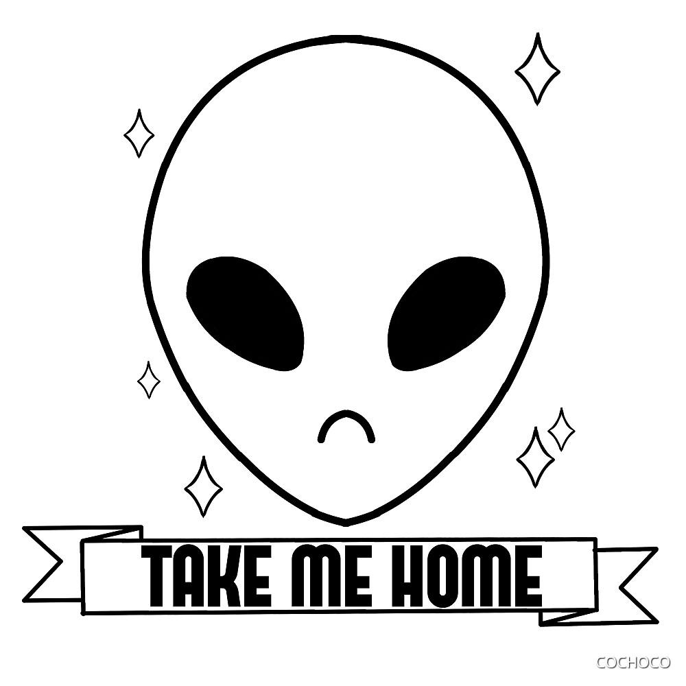 SPARKLING ALIEN - Take me home by COCHOCO