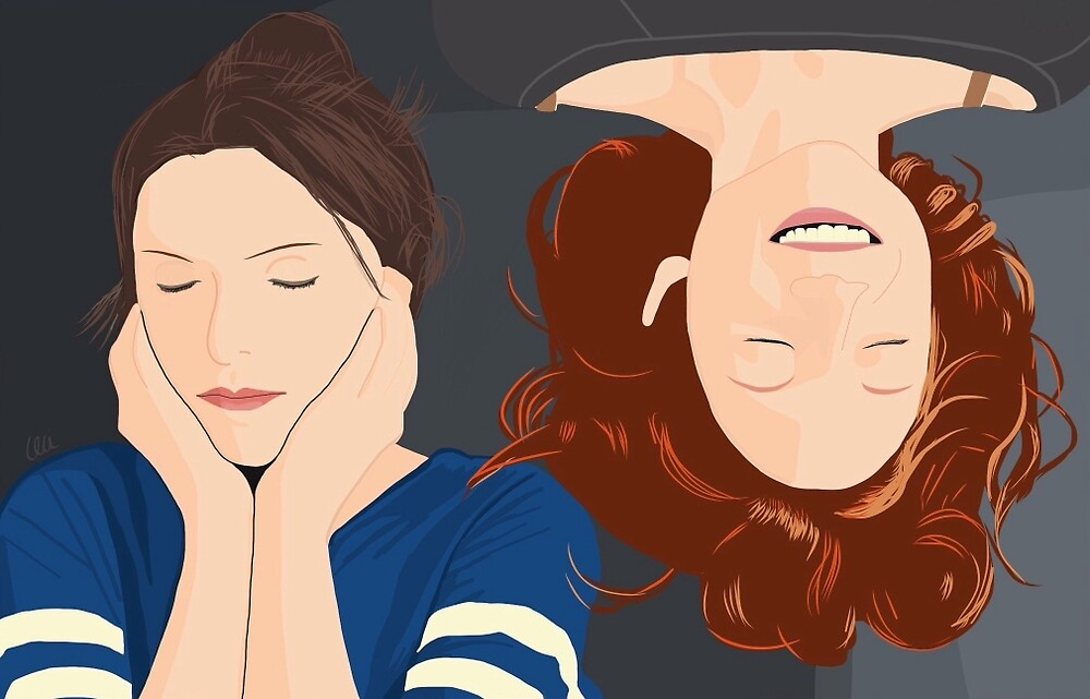 Bechloe in the tent by cecilianofre