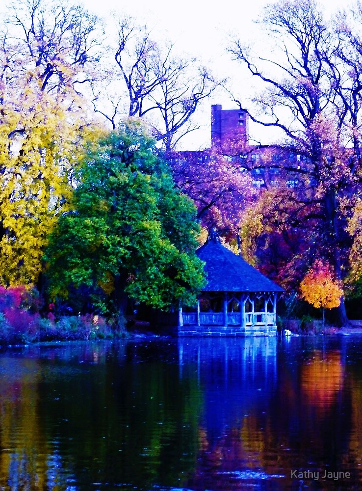 Prospect Park, Brooklyn New York by Funmilayo Nyree