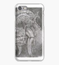 Monsters on the Mind iPhone Case/Skin