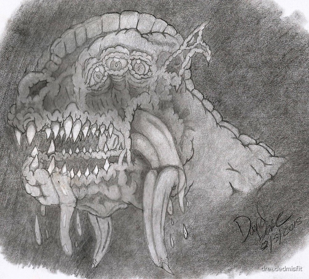 Monsters on the Mind by dreadedmisfit