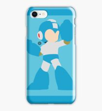 Mega Man (Light Blue) - Super Smash Bros. iPhone Case/Skin