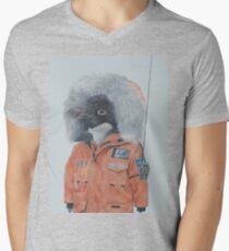 Antarctic Penguin Men's V-Neck T-Shirt