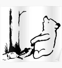 Banksy - Winnie the Pooh Poster