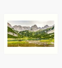 Seebensee   Tyrol   Austrian Alps   Europe  Art Print