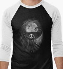 The Scream Before Christmas Men's Baseball ¾ T-Shirt
