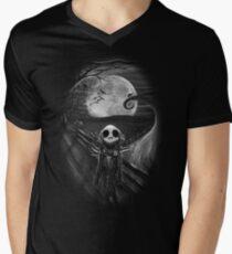 The Scream Before Christmas Men's V-Neck T-Shirt