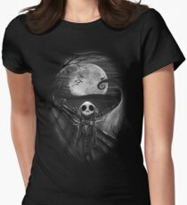 The Scream Before Christmas Women's Fitted T-Shirt