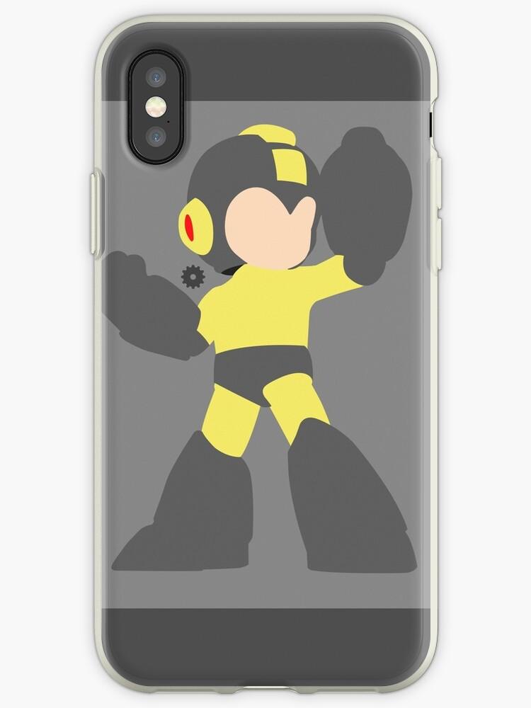 Mega Man (Black) - Super Smash Bros. by samaran