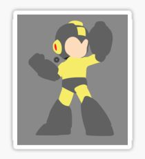 Mega Man (Black) - Super Smash Bros. Sticker