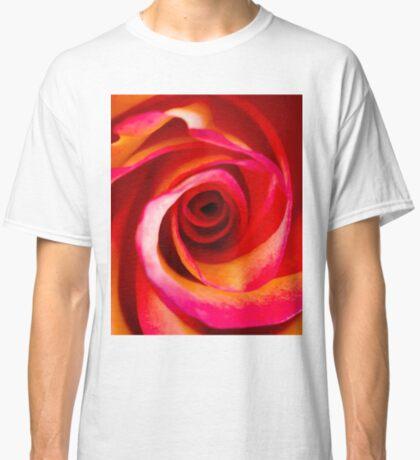 Rosey Swirl Classic T-Shirt