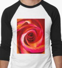 Rosey Swirl Men's Baseball ¾ T-Shirt