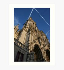 Amiens Cathedral - Amiens, France Art Print