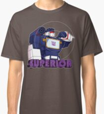 Soundwave: Superior (bust) - for dark shirts Classic T-Shirt