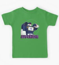 Soundwave: Superior (bust) Kids Clothes