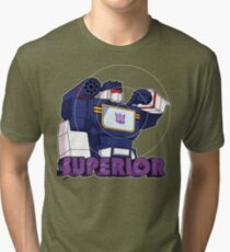 Soundwave: Superior (bust) - for dark shirts Tri-blend T-Shirt