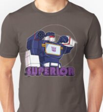 Soundwave: Superior (bust) - for dark shirts Unisex T-Shirt