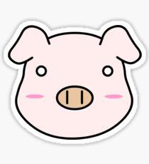 (ANIANI) Leanne's pig shirt Sticker