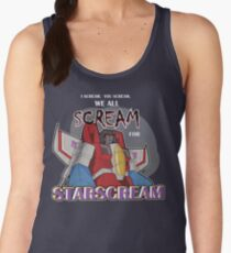 We All Scream for Starscream (dark tee) Women's Tank Top
