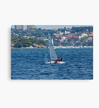Sunday Afternoon Sail Canvas Print