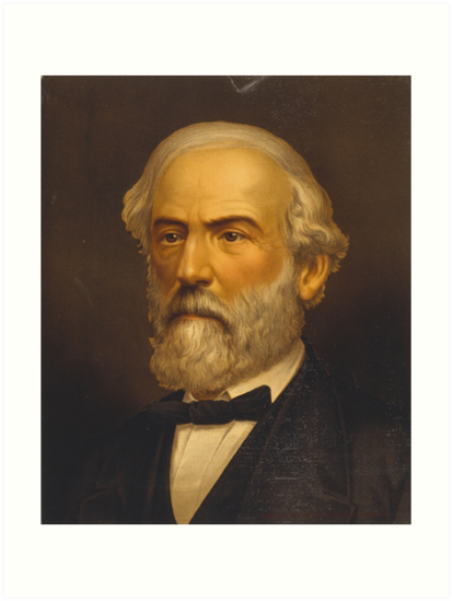 Robert Edward Lee Head-and-Shoulders Portrait Facing Left by allhistory